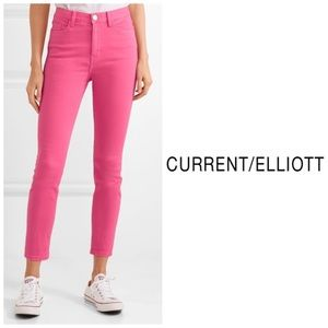 NWT Current/Elliot Ultra High Waist Skinny Jeans👖
